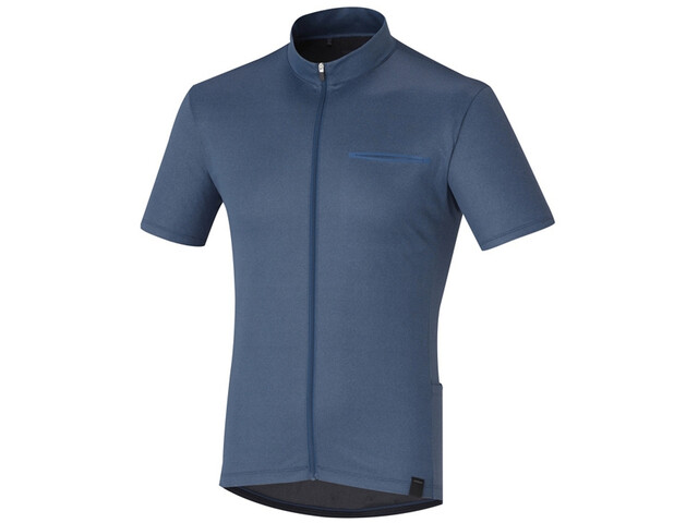 Shimano Transit Pavement Jersey Herren dark denim